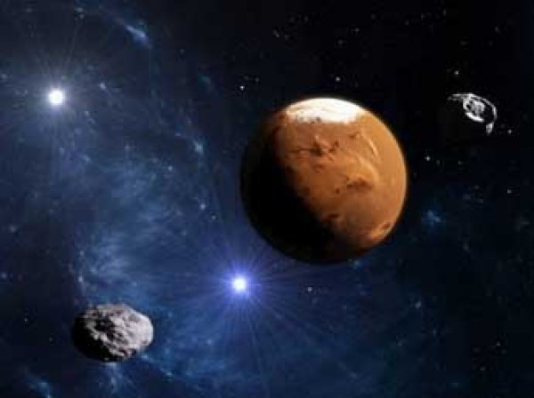 Ученые раскрыли тайну двух лун Марса и нашли третью