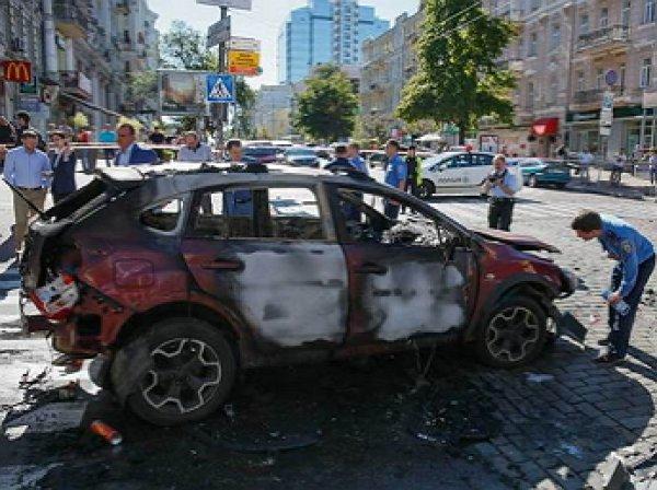 Убийство Павла Шеремета: момент минирования машины попал на уличные камеры видеонаблюдения