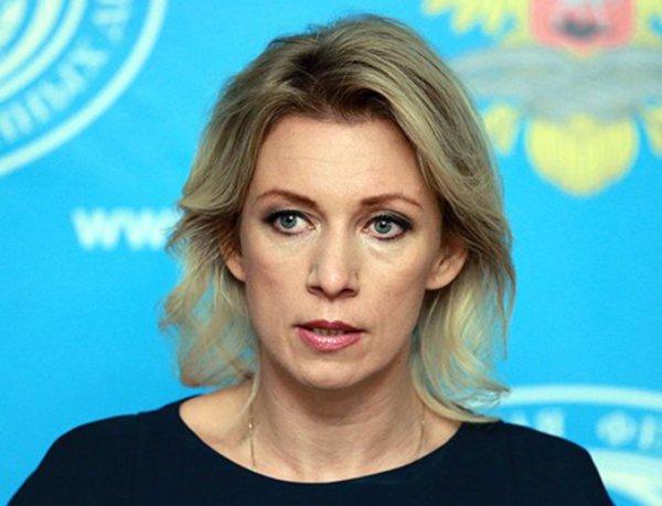 Захарова раскритиковала слова Штайнмайера о неожиданном вмешательстве РФ в Сирии