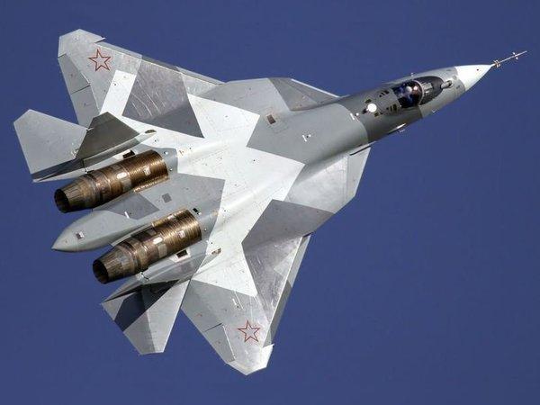 В Сеть попало первое ВИДЕО полета нового российского истребителя пятого поколения