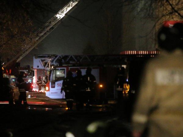 Пожар на складе в Москве: есть жертвы