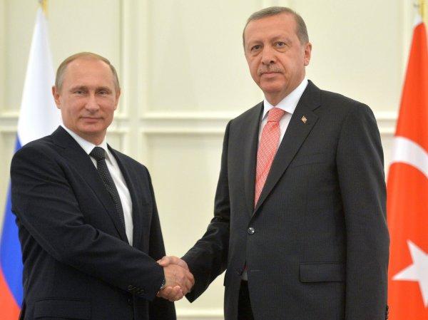 СМИ: Эрдоган извинился перед Россией за Су-24 на русском языке