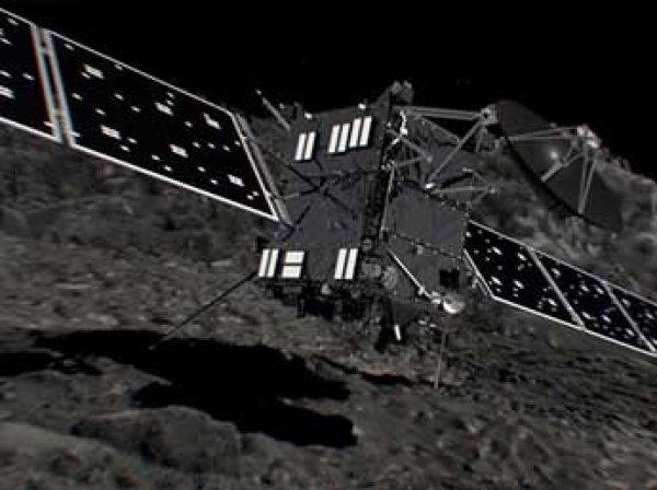 Космический зонд «Розетта» погиб, столкнувшись с кометой