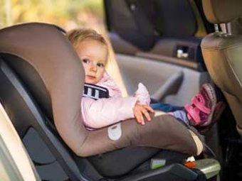 Правила перевозки детей в автомобилях с 1 января 2018