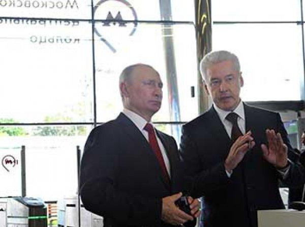 МЦК, открытие: 10 сентября Путин и Собянин открыли московское центральное кольцо (ВИДЕО)