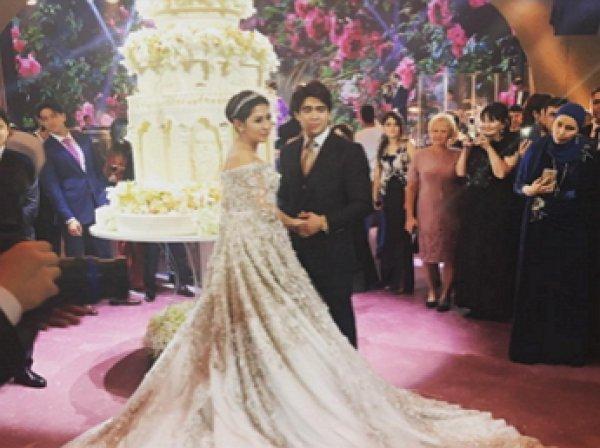 Дочь олигарха Шокирова вышла замуж в платье за 40 миллионов рублей (ФОТО, ВИДЕО)