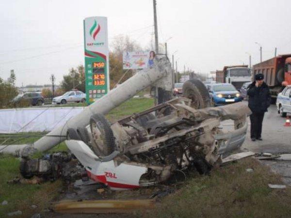Авария в Челябинске со скорой помощью: погибли три человека (ФОТО, ВИДЕО)