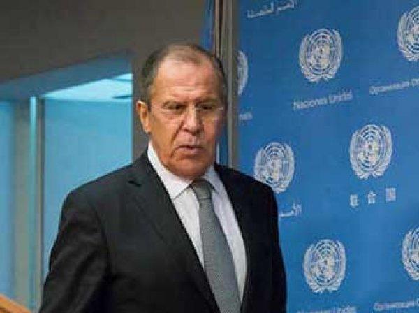 """""""США по Сирии доходят в своей истерике до оскорблений"""": Лавров жестко ответил Западу"""