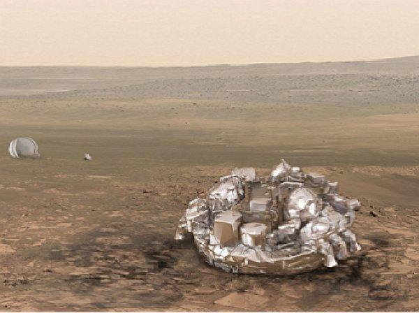 Модуль Schiaparelli сел на Марс и пропал со связи