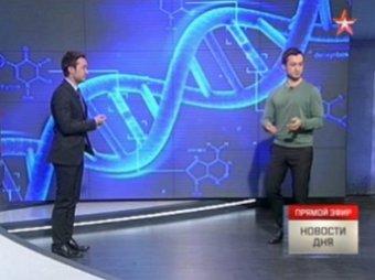 Ведущий телеканала «Звезда» повздорил с собственным клоном (ВИДЕО)