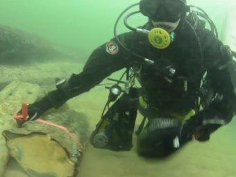 На Youtube появилось ВИДЕО загадочного затонувшего поселения на дне Балтийского моря