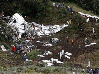 """Стали известны последние слова пилота потерпевшего крушение самолёта с """"Шапекоэнсе"""" на борту"""