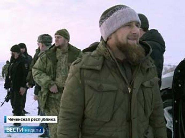 Кадыров обнародовал ВИДЕО спецоперации в Грозном