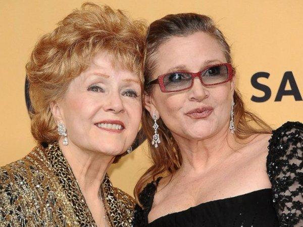 Мать актрисы Керри Фишер скончалась через день после смерти дочери