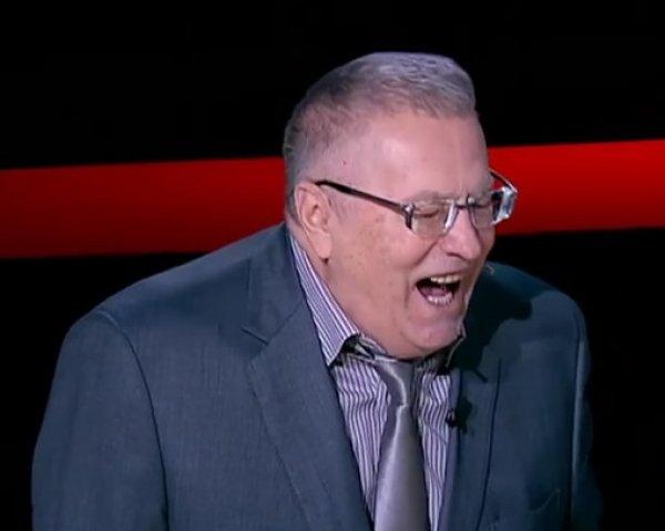 """Youtube ВИДЕО: """"дьявольский"""" смех Жириновского запатентуют как рингтон"""