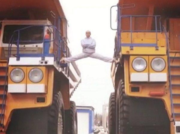 YouTube ВИДЕО: белорус повторил знаменитый трюк Ван Дамма