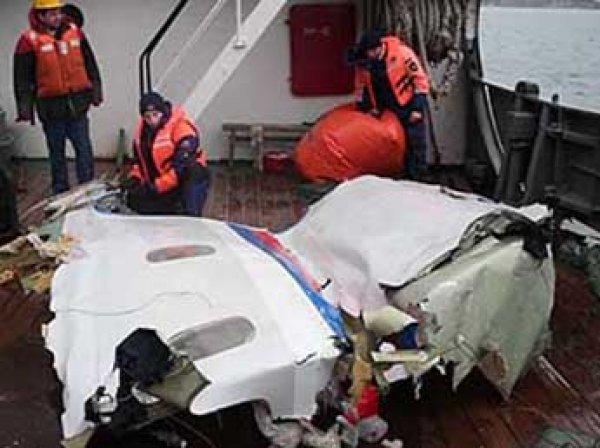 Крушение самолета в Сочи 2016: Минобороны рассказало о версии теракта на борту Ту-154 без взрыва (ВИДЕО)