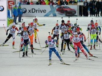 Рождественская гонка биатлон 2012 трансляция смотреть видео