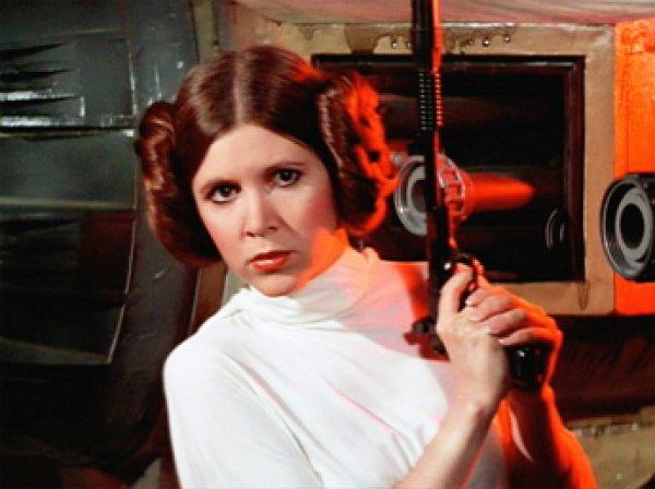Умерла актриса Керри Фишер, исполнившая роль принцессы Леи в киносаге «Звёздные войны» (ФОТО)