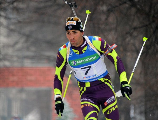 Биатлон сегодня, мужчины, гонка преследования, результаты 07.01.2017: золото — у Фуркада, россияне — без медалей (ВИДЕО)