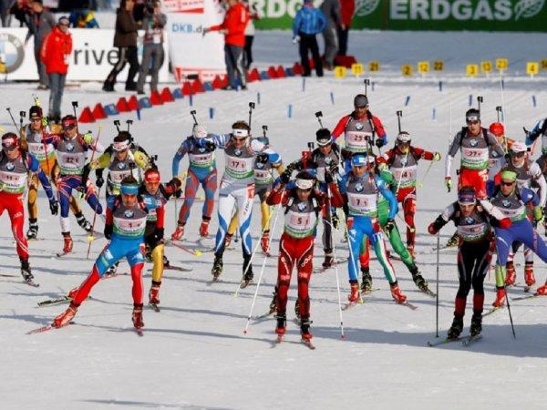 купить гонка чемпионов биатлон 2014-2015 спринт КПРФ