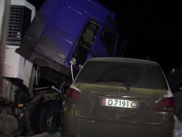 Авария в Саратовской области 15 января 2017 унесла жизни 7 граждан СНГ (ВИДЕО)