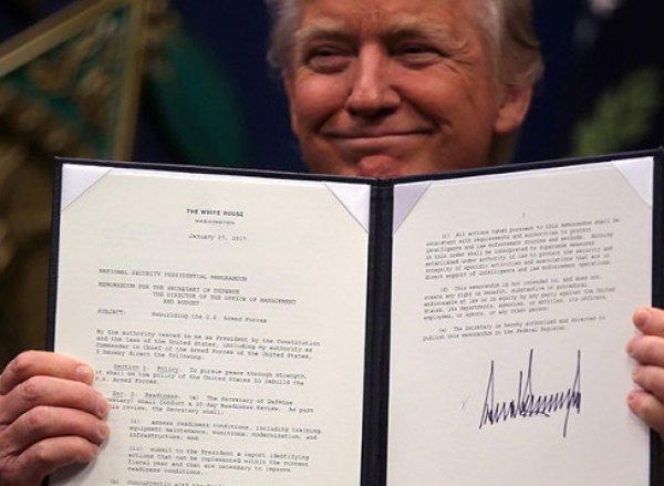 Апелляционный суд признал законным запрет на указ Трампа об иммигрантах