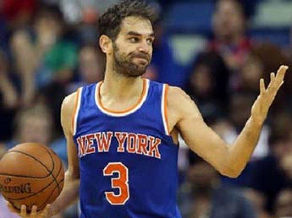 Баскетболист Хосе Кальдерон за два часа заработал  тысяч