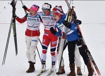 Бьорген выиграла масс-старт на ЧМ в Лахти, Чекалёва — 10-я
