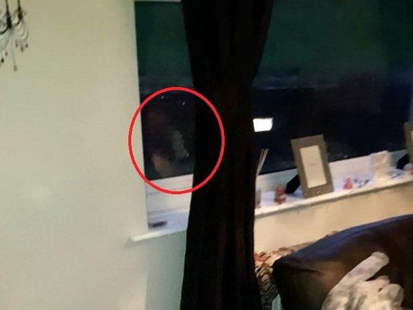"""Британка выложила на YouTube ВИДЕО """"опасного"""" призрака в своей квартире"""