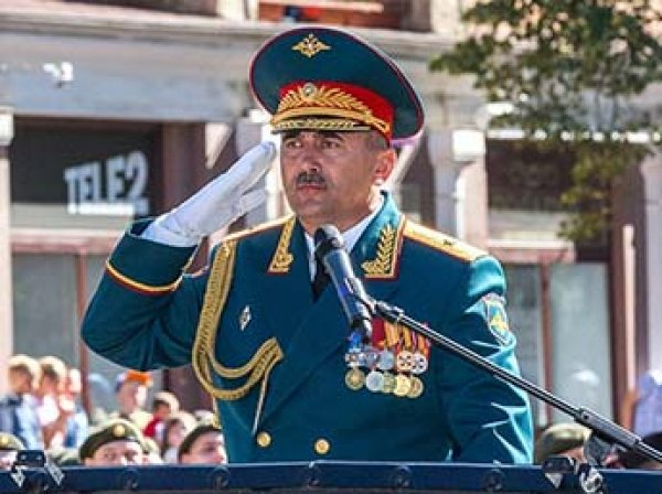 Российский генерал в боях за Пальмиру потерял обе ноги и глаз