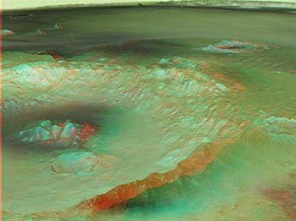 Ученые нашли способ создать на Марсе озеро и возродить на нем жизнь