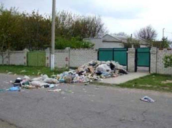 В Крыму выгрузили мусор у домов чиновников, игнорирующих свалки
