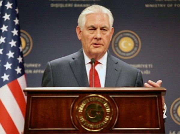 Тиллерсон рассказал, с чего может начаться восстановление отношений с РФ