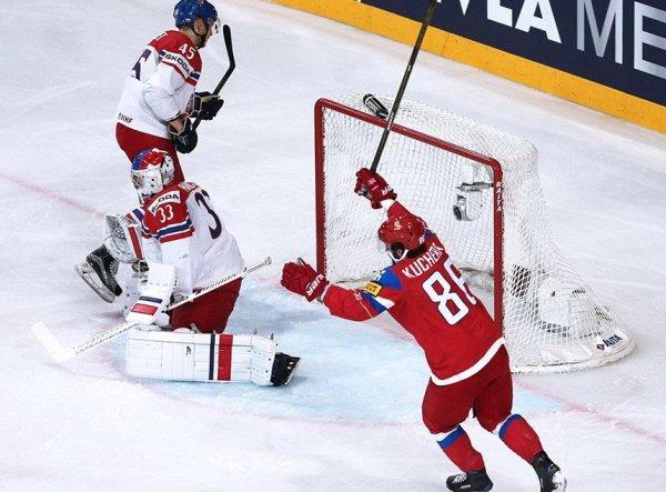 Россия — Чехия, счет 3:0: обзор матча от 18.05.2017, видео голов, результат ЧМ 2017 (ВИДЕО)