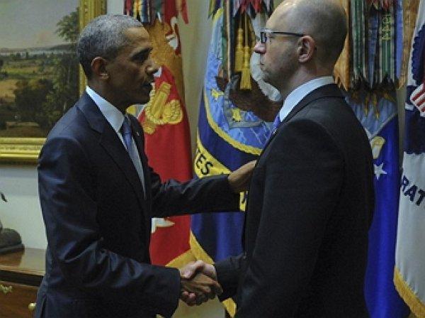 Яценюк встретился с Обамой в США