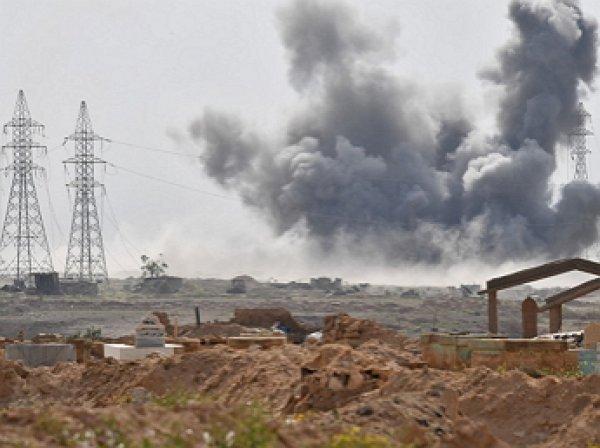 СМИ: США нанесли удар по проправительственным силам в Сирии