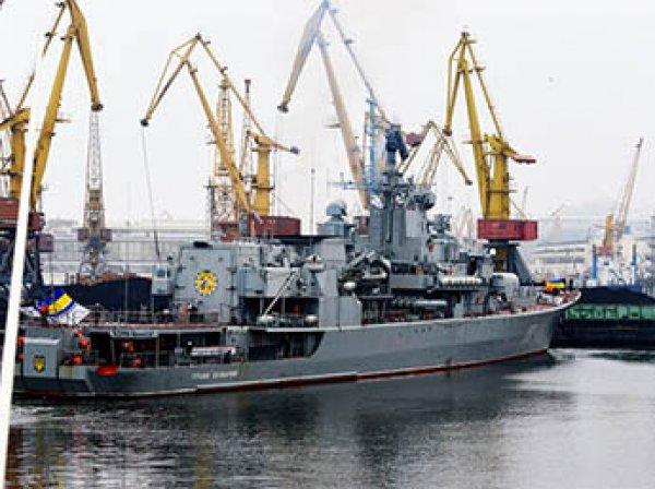 Флагман ВМС Украины сломался сразу после ремонта