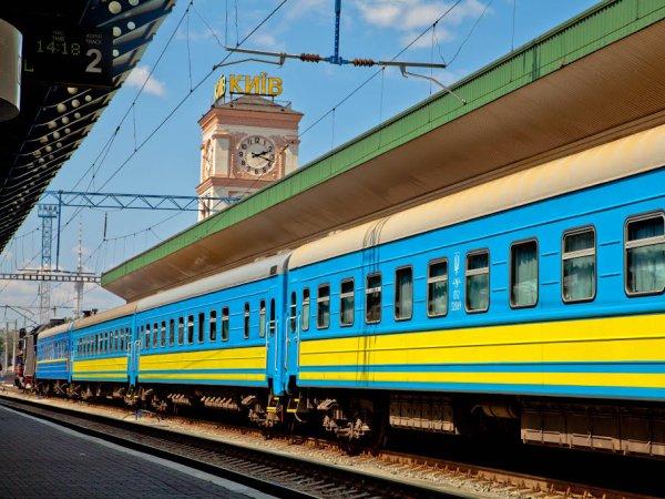 Станция киев - пассажирский 100 лет мпс ж/д вокзал железная дорога (8)