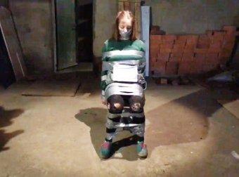 Видео связанная баба по рукам и ногам фото 344-795