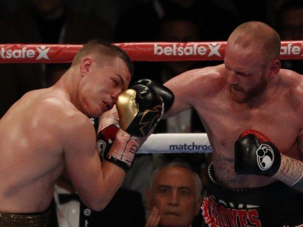 Чудинов - Гроувз: бой завершился проигрыша британцу титула суперчемпиона мира (ВИДЕО)