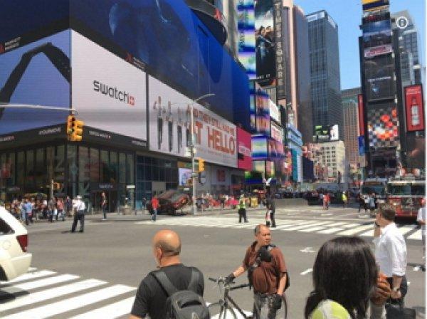 В Нью-Йорке на Таймс-сквер автомобиль протаранил прохожих: 1 человек погиб, 10 пострадало (ФОТО)