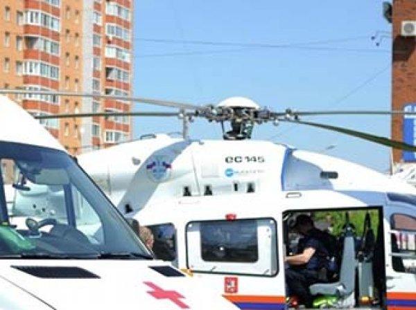 В Москве полуторагодовалая девочка выпала из окна 7 этажа и осталась жива