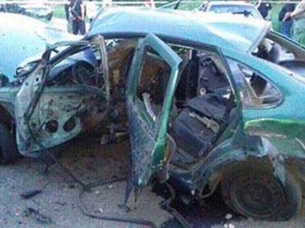 На Донбассе на мине подорвался автомобиль с сотрудниками СБУ: есть жертвы