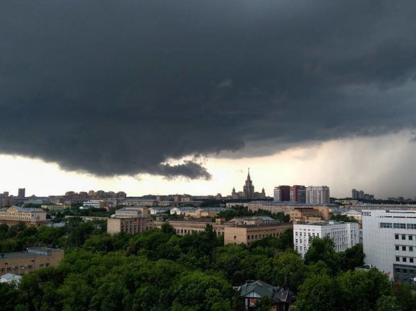 Ураган в Москве сейчас 30.06.2017 уже унес жизни трех человек (ФОТО, ВИДЕО)