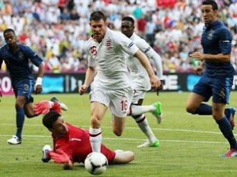 Футбол англия-франция счет