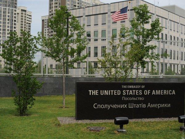 На территории посольства США в Киеве прогремел взрыв (ФОТО)