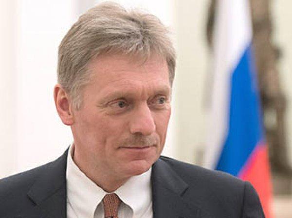 Песков рассказал об атаках хакеров США на сайт Кремля