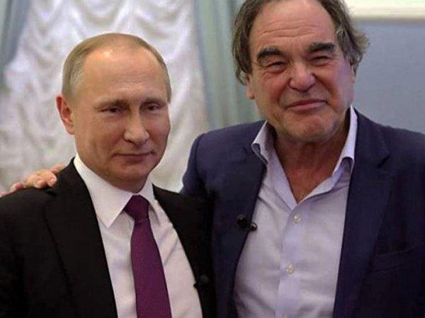 Путин рассказал Стоуну о своем отношении к Сталину