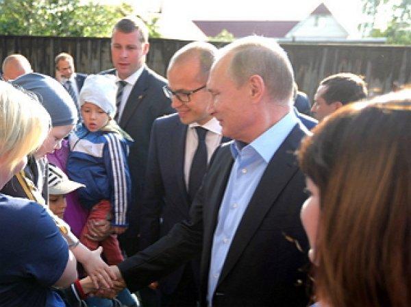 Путин подарил путевку в Сочи жительнице барака из Ижевска